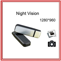 None Night Vision  SG POST Free Shipping Portable DV Mini DVR S829 Night Vision U-Disk spy Camera 1280x960 Flash Disk Pocket Video Camcorder Recorder