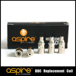 Wholesale - 1.8ohm 2.1ohm replacement Coil for Aspire BDC Atomizer bottom dual coil replacement coils high quality factory price