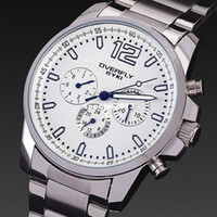 Wholesale Spring men mechanical hand wind men full steel watch fashion watches men luxury brand dive male clock china air express