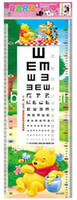 height measurement ruler - 32 cm Cartoon Kids Sticker Charts Height Ruler Also Sight Vision Measurement Mixable Models Resell Packing