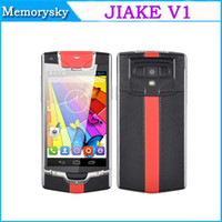 new arrival phone - 2014 New Arrival JIAKE V1 Luxury Brand phone style Android smartphone MTK6572W Dual SIM Card Inch Screen MP camera