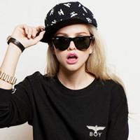 Wholesale 2014 New Arrival Fashion GD Hip Hop Snapback Hat Eagle BOY LONDON Design Baseball Cap For Men And Women