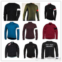 Wholesale new winter rapha bicycle sports clothing styles long sleeve Cycling jersey I