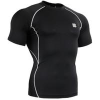 Men Corset & Bustier  Fixgear straitest male short-sleeve sports t-shirt combination
