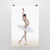 One Panel Digital printing Fashion Light Art Photography White Swan 1 Modern Classic DIY Elegant Beautiful Girl Ballet Dancer Picture Poster Prints Wall Decor Canvas Paintings