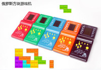 Wholesale Hot Sale New Tetris Game Hand Held LCD Electronic Game Toys Brick Classic Games