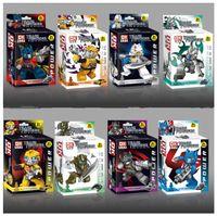 Wholesale New Hot DiamondMax Blocks Transformers Hornet Building Block Sets Minifigure Weapons Cards Educational DIY Bricks Toys