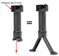 Wholesale Tactical bipod grip pistol Foregrip or mm rail Black Green Tan