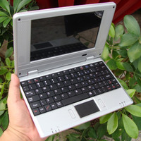 Wholesale 7 quot Google Android Dual core VM8880 VIA Netbook Notebook with Camera HDMI G GB Bluetooth option MINI Laptop