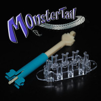 Wholesale Monster Tail Rainbow Loom Kit C CLIPS amp Mix Colored Rubber Bands Crafting Kit
