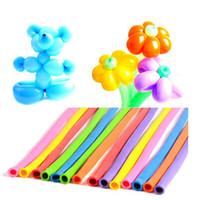 Wholesale pc Latex Magic Balloon Wedding Decoration Party Supplies Long Balloons Birthday Party Decorations Ballon