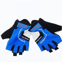 Unisex finger bike - Hot New Professional Cycling Gloves Half Finger Bicycle Gloves Bike Gloves