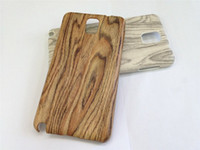 For Samsung Plastic Plastic Hot Sell Hard Plastic Case Wood Grain Cover Cases for Samsung Galaxy Note 3 N9000