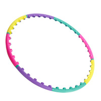 Wholesale 2014NEW Magnet Fitness Hula Hoop Sport Magnetic Massage Hula Hoop Lose Weight Body Building PVC Material for Children Kid parts