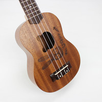 Wholesale 2014 New hot sale inch Ukulele Hawaii small four string guitar musical instrument child best birthday gifts Christmas gift