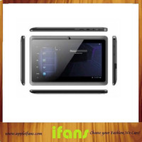 Wholesale Hot New Inch Android Tablet PC Q88 Allwinner A23 Dual Core GHz Android MB GB Dual Camera Capacitive Touch Screen