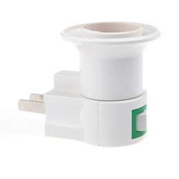 Wholesale AC V Hz W E27 Screw Bulb Socket Pole Jack H4104 drop shipping