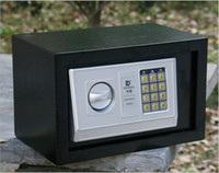 Wholesale Factory Wall Electronic Password Safe Mini Safe Deposit Box Theft Color White amp Black