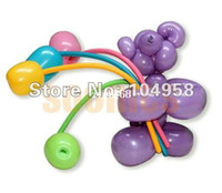 Wholesale Long Balloons Animal Tying Making DIY Decoration Latex Twist Assorted Party