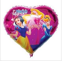 animated birthday balloons - PT0056 Animated Cartoon PRINCESS Balloon Girl Lady Birthday Party Balloon quot inch