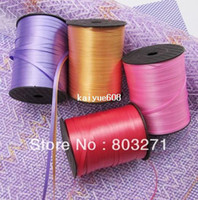 Multicolor balloon ribbon - Balloon Colored Ribbon Tapes Curling Ribbon For Wedding Party Decorations