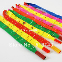 balloon rocket - Hot sales wholesales rocket balloons latex balloons Children toy Fly with Sound balloons