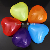 Wholesale 12 inch g Heart shaped balloon party balloons