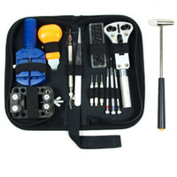 Wholesale Watch Repair Tool Kit Case Opener Link Remover Spring Bar Tool w Carrying Case