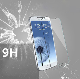 Retail New arriver premium Explosion- Proof 9H 0.2MM Tempered Glass Screen Protectors Films For Samsung galaxy S3  Mini i8190 With Packag