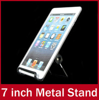 Wholesale Universal Tablet PC inch Metal Bracket Mount Portable Foldable Stand Holder For iPad Air mini mini2 Kindle Fire