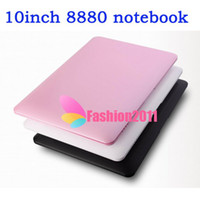 Wholesale 10Inch Dual Core VIA Laptop Android Dual Core Cortex A9 GHZ HDMI WIFI MB GB Mini Netbook Notebook