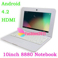Wholesale 10Inch Dual Core VIA Laptop Android Dual Core Cortex A9 GHZ HDMI WIFI MB GB Or GB option Netbook Notebook