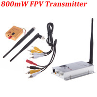 Wholesale Boscam G ch mW Wireless Camera Video AV Audio Transmitter Receiver FPV OSD RM415