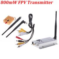 Transmitters wireless video transmitter receiver - Boscam G ch mW Wireless Camera Video AV Audio Transmitter Receiver FPV OSD RM415