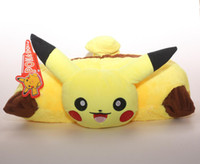 Wholesale Anime New quot pikachu pillow birthday Stuffed Pokemon Plush Doll Toy For Gift funny animals