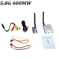Wholesale 2014 NEW CH G mW Wireless FPV TV Transmitter and Receiver Kit Real time AV Audio Video m Range RM425
