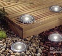 IP65 underground - Solar LED underground lamp Cheap solar lights LED Solar courtyard Lights IP65 Waterproof buried lawn lamp floor lamps garden lights