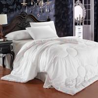 Wholesale 60 is a core colorful jacquard duvet goose feather quilt dimensional rainbow velvet fiber edges are