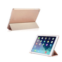 Wholesale S5Q Ultra Slim Smart Cover PU Leather Stand Hard Case For Apple iPad Air th AAADHZ