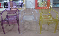 Wholesale louise ghost chair with armrest