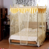 Wholesale Luxurious satin court nets mosquito nets princess gh_d483b27c3ede