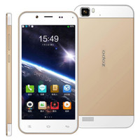 "WCDMA French Android Gold ZOPO ZP1000 5.0 ""IPS MTK6592 Cortex A7 Octa Core 1.7GHz 14.0MP 1280x720 1GB RAM 16GB ROM OTG Android 3G Smartphone"