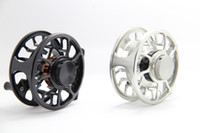 Wholesale saltwater fishing large arbor LW7 fly reel black and gun color for your choice
