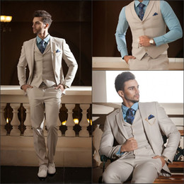 Wholesale 2014 Custom Made High Quality Pieces Men s Suits Western Wedding Tuxedos Cheap
