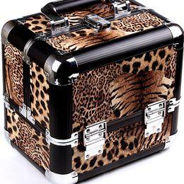 Wholesale Cosmetic Case Makeup Train Case Cosmetic Organizer Bags Women Tote Bag Make Up Organizer Multifunctional