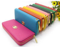 leather purse handles - Womens s clutch classical design clip Purse Bag Wallet PU Leather with handle