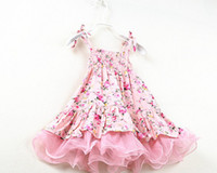 Summer New Arrival Children Girls Braces Dress Village Count...