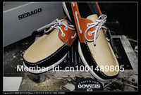 Lace-Up boat shoes - boat shoes Handmade casual sandals the first layer cowhide rubber sole can choose a color have stock fashion