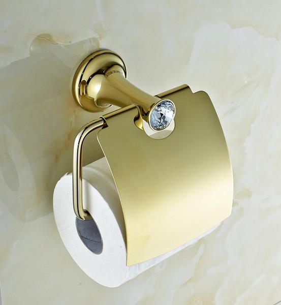 Awesome Accessoires Sanitaires Cristal Et En Laiton Contemporary ...