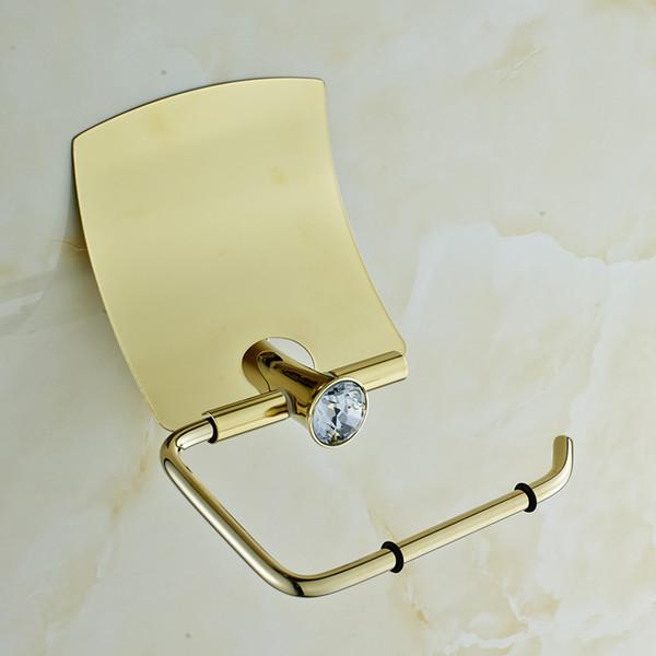 Accessoires Sanitaires Cristal Et En Laiton